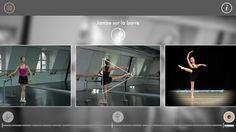 Our Ballet App also offers exercises for you to rehearse the main movements.  --   Notre appli Ballet comprend aussi des exercices pour vous permettre de réviser les principaux mouvements.