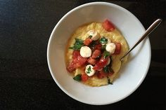 Three Polenta Recipes So Easy You Can Make 'Em in a Hotel Room  | Big Girls Small Kitchen
