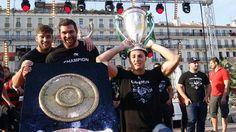 Toulon fête le Brennus 2014  #Champions  -Rugby-Top 14 Top 14, Rugby Championship, Toulon, Bonheur
