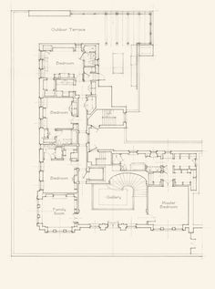 John B. Murray Architect: Park Ave. Penthouse | Mostly I just like the style of this plan
