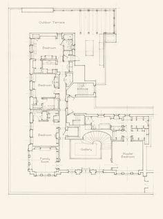 John B. Murray Architect: Recent Work Townhouse Apartments, New York Apartments, Apartment Floor Plans, House Floor Plans, Architecture Details, Architecture Drawings, Architectural Floor Plans, Architect Drawing, Villa