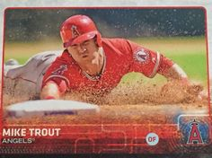 Mike Trout - Angels - 2015 Topps #300