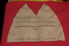 The Measurements are for the circumference of the head.  So the measurement you would get if you too a measuring tape and wrapped in around a person's head.  Please not that fleece can have varying amounts of stretch to it. Baby Small – 16 inches or 40.64 Large – 17 inches or 43.18 cm   Child Small – 17.5 inches or 44.45 Large – 19 inches or 48.26 cm   Adult Small 20 inches or 50.8 cm Medium 22 inches or 55.88 Large 24 inches or 60.96   You will need the following: A printed out version of…