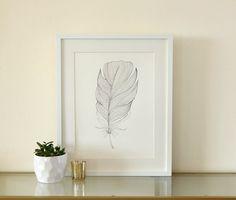 Feather Ink drawing.   #feather #inkdrawing #featherart #originalart
