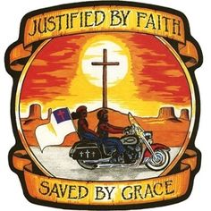 """Justified By Faith Saved By Grace"" Patch"