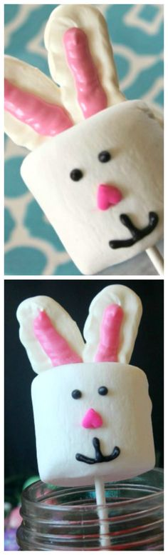 Easter Marshmallow Pops ~ Super fun and so creative!