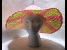The Loom Muse Creations and Ideas: How to Loom Knit a Summer Hat