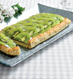 En skøn tærte med syrlige frugter