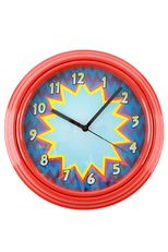 Superheroes Collection, Clock, 12 inches, Red Superhero Classroom Theme, Classroom Themes, Clock, Red, Collection, Decor, Watch, Decoration, Clocks