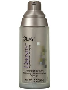 Olay Definity Deep Penetrating Foaming UV Moisturizer with SPF 15 True Up, American Skin, Old Adage, Moisturizer With Spf, Good Housekeeping, Olay, Skin Makeup, Anti Aging, Skin Care