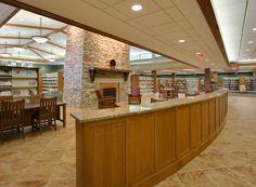 Inside LaGrange Branch in Oldham County Public Library, Kentucky