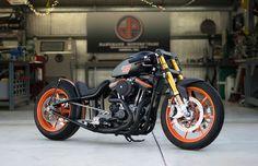 """ϟ Hell Kustom ϟ: Harley Davidson Sportster """"C88"""" By DP Customs"""