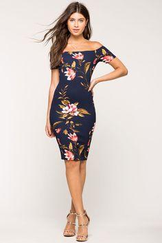 Love Again Floral Midi DressLove Again Floral Midi Dress