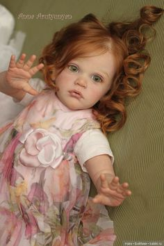 Волшебной красоты девочка реборн Mattia от Анны Арутюнян / Куклы Реборн: изготовление своими руками, фото, мастера / Бэйбики. Куклы фото. Одежда для кукол Baby Dolls For Kids, Reborn Toddler Dolls, Reborn Dolls, Reborn Babies, Victorian Dollhouse, Modern Dollhouse, Miniature Dolls, Miniature Houses, Baby Fairy