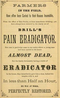 ~ Brill's Family Recipe Book, 1870 Funny Vintage Ads, Vintage Signs, Vintage Advertisements, Nurse Pics, Family Recipe Book, Vintage Medical, Up Book, Advertising Ads, Antique Bottles