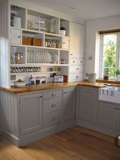 Top Small Kitchen Remodel Inspiration Five Qualities of a Good Kitchen Design We Need To Know. Before we start getting things done for our new kitchen, here are five qualities of a good kitchen design that are worthy of our attention: Ikea Kitchen Cabinets, Kitchen Cabinet Design, Kitchen Redo, New Kitchen, Kitchen Storage, Kitchen Small, Kitchen Corner, Grey Cabinets, Kitchen Sinks