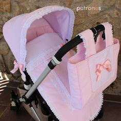 Saco-capota-bugaboo-patronesmujer Baby Gifts To Make, Baby Shower Balloons, Baby Carriage, Baby Sewing, Beautiful Babies, Reborn, Baby Dress, Baby Car Seats, Baby Strollers