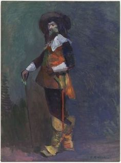 The Musketeer - Henri Matisse. 1903. MoMA #:SPC70.1990 New York City. #matisse
