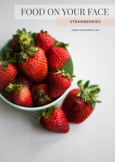 4 strawberry beauty recipes to brighten, exfoliate, and moisturize your skin, as well as whiten your teeth from natural living blog HelloNatural.co
