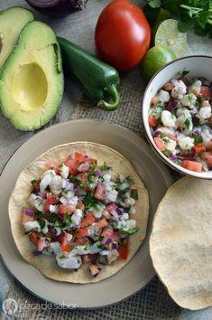 Cómo hacer ceviche de pescado www.pizcadesabor.com