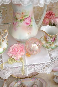 nippon tea set... some where I have this!
