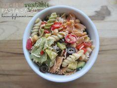 Light + Healthy Vegetable Pasta Salad
