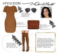 """Who Is Your Style Icon?"" by tessawarongan on Polyvore featuring Breckelle's, Joules, The Row, Samsung, DemiLovato, icon and styleicon"