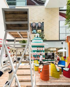 This Whimsical Pop-Up Beach Has Been Built Inside A Shopping Mall