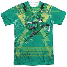 DC Comic Green Lantern Circle Logo-Mens T-Shirt-Iris Homme