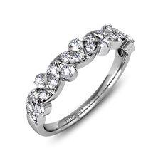 Alliance or blanc diamant  Vania