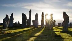 Callanish - much further off the tourist trail than Stonehenge - not nearly so untouchable.