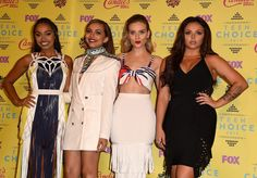 Pin for Later: Little Mix Sprinkled a Little Black Magic Over the Teen Choice Awards