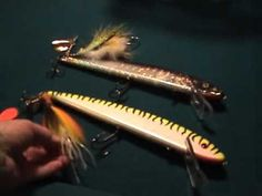 Muskie Trolling baits for fall pattern.