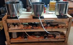 """On today's FrontPage forum member Adam """"adamtbest"""" Best shares with us his induction cooker brewing stand build. Adam started out on his homebrewing journey 10 years ago, using a Mr. Beer extract brewing kit. Soon after he moved on to brewing outdoors using a propane burner and a turkey fryer system. Missing the benefits of indoor brewing he decided to build a custom brewstand designed for use with energy efficient induction cookers. Stop by and give us a read, you will be glad that you did."""