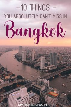 My list of 10 Must Dos in Bangkok, Thailand. Things you absolutely cannot miss when visiting Bangkok Thailand Vacation, Thailand Travel Guide, Bangkok Travel, Bangkok Thailand, Asia Travel, Croatia Travel, Hawaii Travel, Italy Travel, Nightlife Travel
