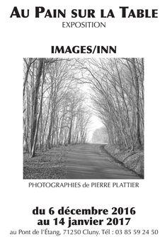 """Exposition """"IMAGE/INN"""" au Pain sur la table du 6 décembre 2016 au 14 janvier 2017 à Cluny : http://clun.yt/2hme5bO"""
