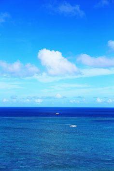 Blue Sky & Ocean | Flickr - Photo Sharing!