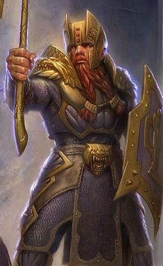 Bruenor Battlehammer · The Forgotten Realms Wiki Battlehammer · Todd Lockwood