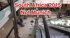Fotografia refere-se a um tiroteio ocorrido na África do Sul em Janeiro de 2015