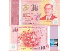 Dollar, Vibrant, Money, Coin Collecting, Banknote, Singapore