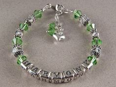 Flower Gift Bracelet Flower Girl Jewelry Flower by KrisTsCreations, $45.00