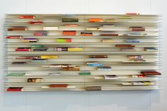 horizontal bookcase.