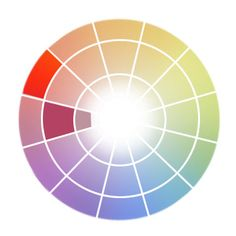 color-contrast-chart | digital color theory | pinterest | graphics