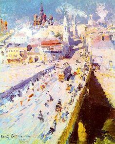 Old Moscow, 1913 - Konstantin Korovin