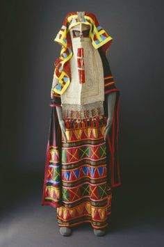 Traditional costume of the Rashaidah Tribe of Saudi Arabia