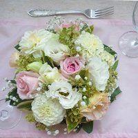 Esküvői kerek asztaldísz Potato Salad, Cabbage, Potatoes, Vegetables, Wedding Things, Ethnic Recipes, Food, Meal, Potato