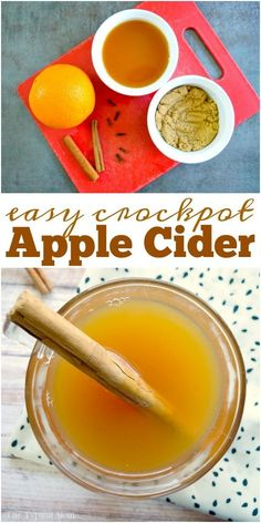 Crockpot Hot Apple Cider Crockpot hot apple cider is amazing, especially during the holidays! This one is so easy to make and stays warm for hours in the slow cooker! via The Typical Mom * Instant Pot Recipes * Ninja Foodi Recipes Crockpot Apple Cider, Apple Cider Drink, Warm Apple Cider, Easy Apple Cider Recipe, Making Apple Cider, Holiday Appetizers, Holiday Drinks, Holiday Recipes, Christmas Recipes