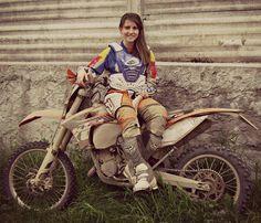 Girls ad their dirt bikes. YEA!!!!