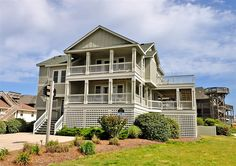 Twiddy Outer Banks Vacation Home - Life is Good - Duck - Semi-Oceanfront - 6 Bedrooms