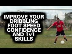 15 soccer footwork drills to UPGRADE your soccer moves and tricks so you can beat defenders and keep possession of the ball. These soccer footwork drills wil. Soccer Player Quotes, Soccer Gifs, Soccer Quotes, Play Soccer, Soccer Players, Soccer Videos, Soccer Stuff, Soccer Sports, Girls Soccer